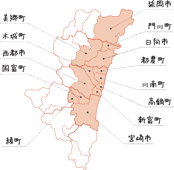 取材エリア MAP